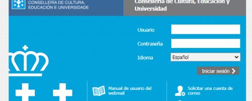 Acceder correo Web Xunta de Galicia