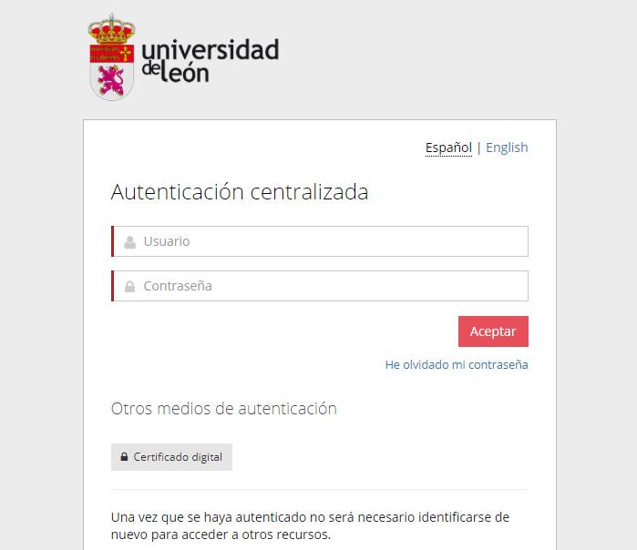 Correo UNILEON - Universidad de Leon